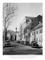 Salem College, General View, Salem Square, Winston-Salem, Forsyth County, NC Fine Art Print
