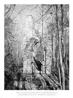 McCulloch Gold Mill, Copper Branch Guilford County, North Carolina Fine Art Print