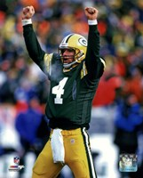 Brett Favre 1996 Action Fine Art Print