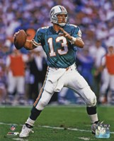 Dan Marino 1994 Action Framed Print