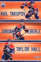 Edmonton Oilers® - Trio 13 Wall Poster