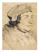 Portrait of a Scholar or Cleric by Hans Holbein The Younger - various sizes