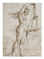 Allegory of Justice Fine Art Print