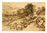 Pastoral Scene by Titian - various sizes