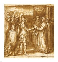 Scene from the History of the Farnese Family Fine Art Print