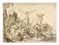 The Crucifixion by Hans Von aachen - various sizes