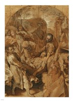 The Entombment Fine Art Print