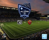 """Livestrong Sporting Park 2013 MLS All Star Game with Logo - 10"""" x 8"""""""