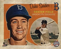 Duke Snider 2013 Studio Plus Fine Art Print