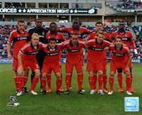 """Chicago Fire 2013 Team Photo - 10"""" x 8"""""""