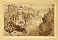 View of Tivoli Fine Art Print