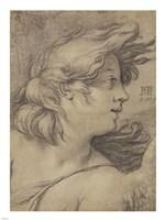 Bust of an Angel Fine Art Print