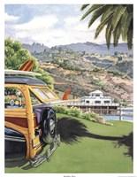"""Malibu Pier by Evelyn Jenkins-drew - 13"""" x 17"""""""