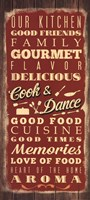 Cook & Dance Fine Art Print