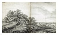 Landscape with Haymakers Fine Art Print