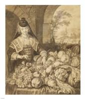 Saint Jerome Hearing the Trumpet of the Last Judgement - food Fine Art Print