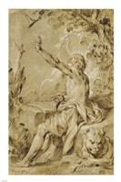 Saint Jerome Hearing the Trumpet of the Last Judgement Fine Art Print