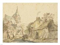 View of Eindhoven from the Northeast Fine Art Print