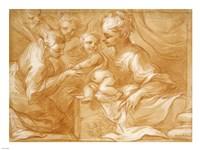 Mystic Marriage of Saint Catherine Fine Art Print