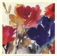"Watercolour Florals I - Mini by Asia Jensen - 13"" x 13"""