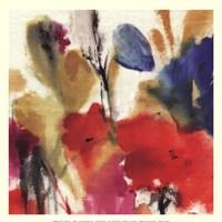 "Watercolour Florals II - Mini by Asia Jensen - 13"" x 13"""