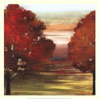 Flow Trees II-Mini Fine Art Print