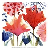 Wild Flowers I-Mini Fine Art Print