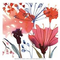 Wild Flowers II-Mini Fine Art Print
