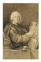 Portrait of Cavaliere Francesco Maria Niccolo Gabburri by Domenico Ferretti - various sizes