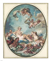 The Birth and Triumph of Venus Fine Art Print