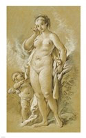 Venus and Cupid Fine Art Print