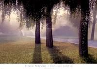 "Misty Bridge by Steven Mitchell - 36"" x 26"""
