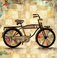 "Ride 1 by Jennifer Wagner - 12"" x 12"", FulcrumGallery.com brand"