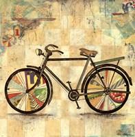 "Ride 2 by Jennifer Wagner - 12"" x 12"", FulcrumGallery.com brand"
