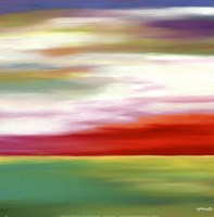 Prairie Abstract 11 Fine Art Print