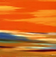 Prairie Abstract 12 Fine Art Print