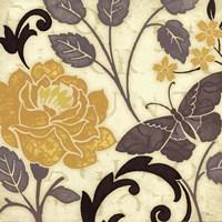 Perfect Petals I Yellow Fine Art Print