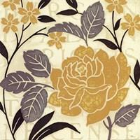 Perfect Petals II Yellow Fine Art Print