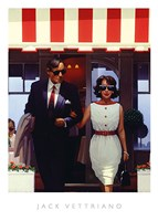 """Lunchtime Lovers by Jack Vettriano - 16"""" x 20"""""""