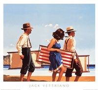 "Sweet Bird of Youth by Jack Vettriano - 20"" x 18"""