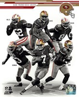 San Francisco 49ers 2013 Team Composite Fine Art Print