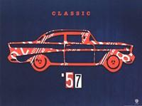 57 Chevy Fine Art Print