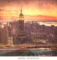 Uptown Manhattan Parkway Fine Art Print