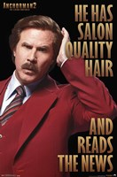 Anchorman 2 - Hair Wall Poster