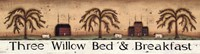 """Three Willow Bed & Breakfast by Donna Atkins - 30"""" x 8"""""""
