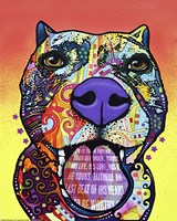 Bark Don't Bite by Dean Russo - various sizes