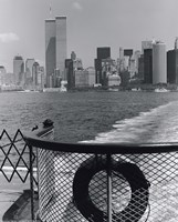 View from Staten Island Ferry Framed Print