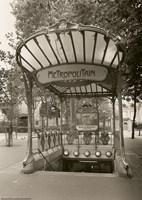 Metropolitain (Paris) I by Christopher Bliss - various sizes