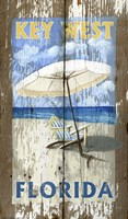 Beach Umbrella Fine Art Print