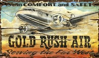 Gold Rush Air by Red Horse Signs - various sizes